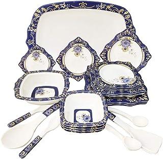 Royal NBL 30 Pieces Melamine Dinner Set - Melamine Dinnerware - Melamine Plates NBL-KM1008