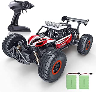 RC Car, SPESXFUN 2020 Updated 1/14 Scale High Speed Remote Control Car, 2.4Ghz Off Road RC Trucks with Two Rechargeable Batteries, Electric Toy Car for All Adults & Kids