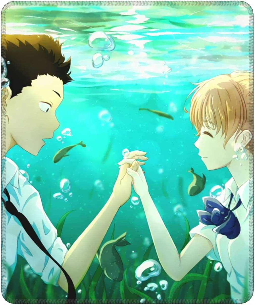 Large-scale sale A Silent Voice Mouse Pad Max 86% OFF Laptop Mat Non-Slip for Anime