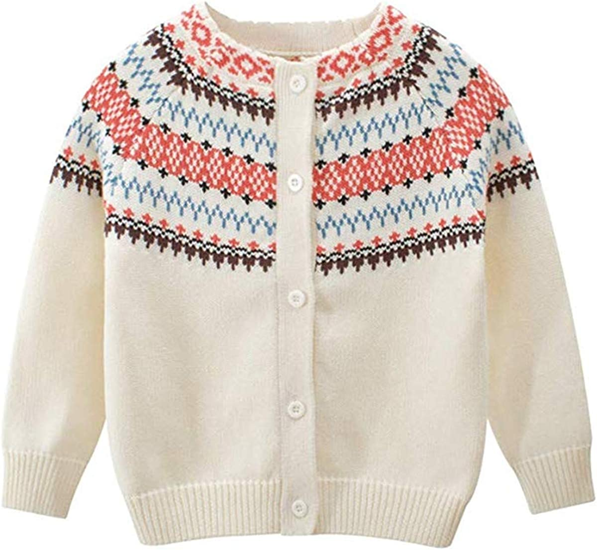 Newborn Infant Unisex Baby Girls Boys Warm Sweater Long Sleeve Knitted Blouse Pullover Sweatshirt Tops Fall Clothes