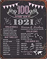 RCY-T Craft Bar Signs 1931 birthday board, Born in 1931 History Sign, Unique 90th Birthday Gifts Man, 90th Bday Ideas For Him Personalized メタルサインs for Garage-Birthday Anniversary 07-12x8 inch