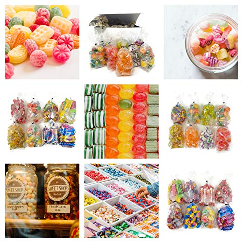 Vintage Candy Surprise Gift Box - Retro Bulk Candy Variety - 8 Different Fun Nostalgic Candies in...