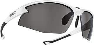 Bliz Motion+ Sunglasses - White - Smoke with Flash -