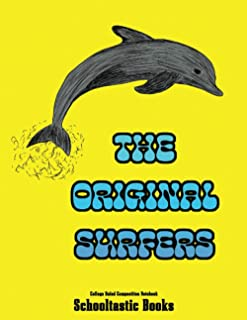 The Original Surfers College Ruled Composition Notebook: 100 Pages (50 sheets) 8.5X11 inches Medium Ruled Journaling Notet...