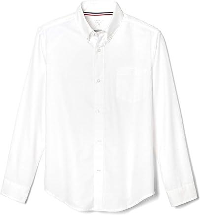 7940a80812c8 Amazon.ae: Boys School Uniforms Long Sleeve Button Up Oxford Shirt