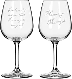Best mischief managed wine glass Reviews