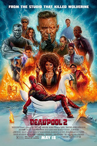 MCPosters Marvel Deadpool 2 GLOSSY FINISH Movie Poster - FIL985 (24' x 36' (61cm x 91.5cm))