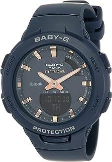 Casio Baby-G Womens Quartz Watch, Analog-Digital Display and Resin Strap - BSA-B100-2ADR