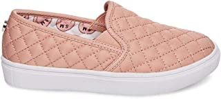 girls' quilted sneakers