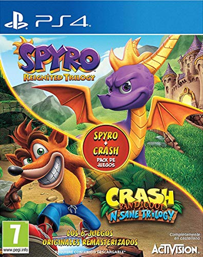Spyro Reignited Trilogy + Crash N. Sane Bundle