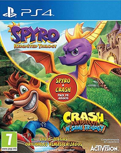 Spyro Reignited Trilogy + Crash N. Sane Bundle