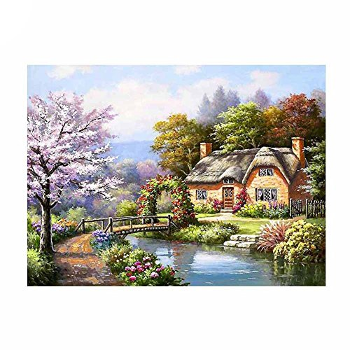 display08 paisaje 5d Diamond bordado pintura punto de cruz Craft Home Room Decor 2