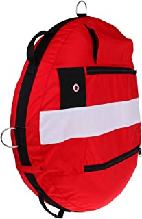 CUTICATE Dive Buoy, Freediving Training Buoy Float - Safety Flotation Device - Easy to Inflate and Easy to See - High Visible & Compact - Choice of Color