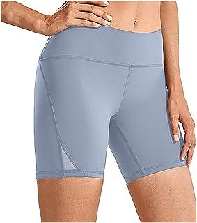 Beishi Women's High Waist Yoga Short Abdomen Control Training Running Quick-Drying Tight Stretch Fitness Yoga Pants