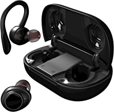 Soundnova XPods Sports Wireless Earbuds, Premium Hi-Fi Deep Bass IPX8 Waterproof Bluetooth Earphones with LED Display Char...
