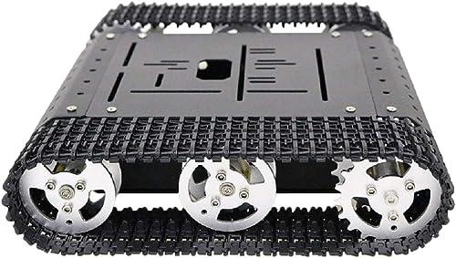 Almencla Robot Chasis de Tanque de Arduino de Aleación - Motor con codigo