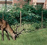 Dalen Gardeneer Deer Netting – Polypropylene Mesh Deer Defense – Enhanced Durability and Sturdiness – Easy DIY Installation Garden Animal Barrier