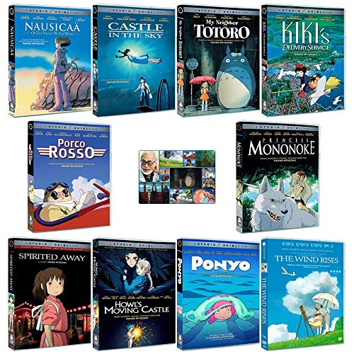 The Master Collection: Written & Directed by Hayao Miyazaki (Nausicaa of the Valley of the Wind / Castle in the Sky / My Neighbor Totoro / Kiki