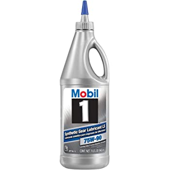Mobil 1 104361-UNIT 75W-90 Synthetic Gear Lube - 1 Quart