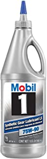 Mobil 1 104361-UNIT 75W-90 Synthetic Gear Lube – 1 Quart