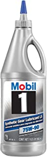 Mobil 1 104361-UNIT 1 Quart (32 Ounces) 75W-90 Synthetic Gear Lube