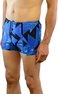 Adoretex Men's Solid Square Leg Swim Shorts Swimsuit