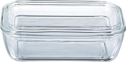 Luminarc 60118 Butterdose 17x10,5cm mit Deckel, 1 Stück, transparent preisvergleich bei geschirr-verleih.eu