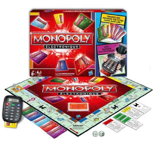 Hasbro - 377121010 - Jeu de Société - Monopoly Electronique