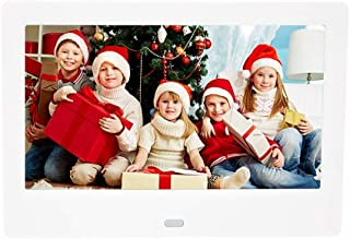 7 Inch Digital Photo Frame MP3 Video Player Calendar Alarm Video Advertising Player with Remote Control Electronic Album S...