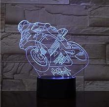 LED-nachtlampjes 3D illusie nachtkastje lamp 47 kleuren veranderende slapen verlichting Smart Touch Button verjaardagscade...