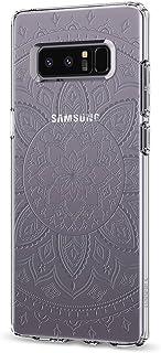 Spigen Liquid Crystal Compatibel met Samsung Galaxy Note 8 patroon hoesje, Transparant TPU siliconen gsm-hoesje Flex cover...
