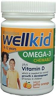Vitabiotics Wellkid Omega-3 Chewable Capsules 60's