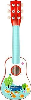 Small foot 10725 guitare en bois pour enfants, le premier instrument de musique, favorise l'apprentissage de la musique, d...