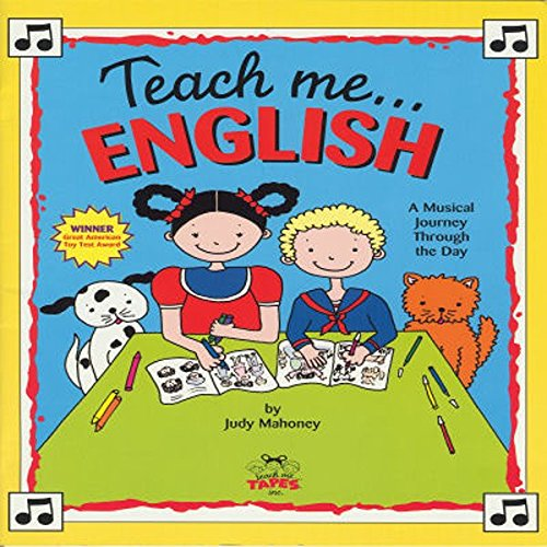 Teach Me English audiobook cover art