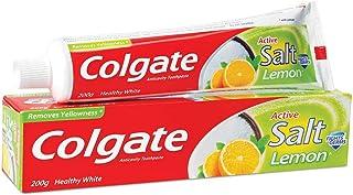 Colgate Active Lemon & Salt Healthy White Toothpaste - 200 g