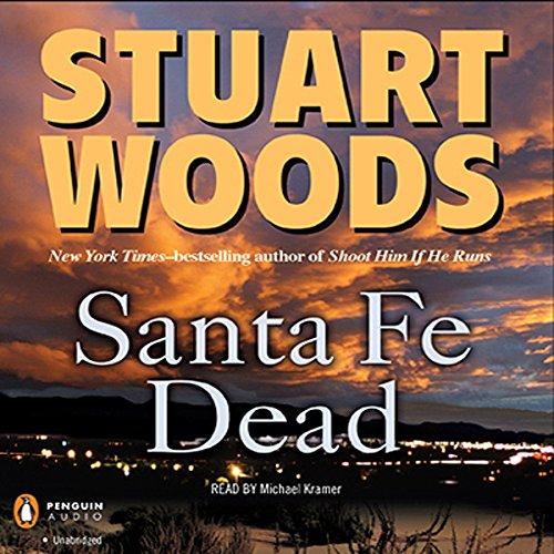 Santa Fe Dead audiobook cover art