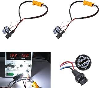 KaTur 2pcs 50W 8ohm 7440 7440NA 7441 992 Led Load Resistors - Fix LED Bulb Fast Hyper Flash for LED Turn Signal Light Blink or LED License Plate Lights Error
