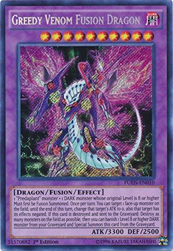 Greedy Venom Fusion Dragon - FUEN-EN010 - Secret Rare - 1st Edition