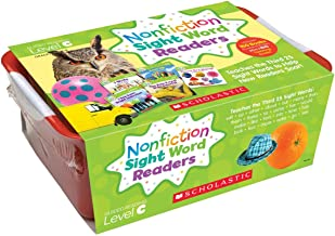 Nonfiction Sight Word Readers Classroom Tub Level C: Teaches the Third 25 Sight Words to Help New Readers Soar! (Nonfiction Sight Word Readers Classroom Tubs)