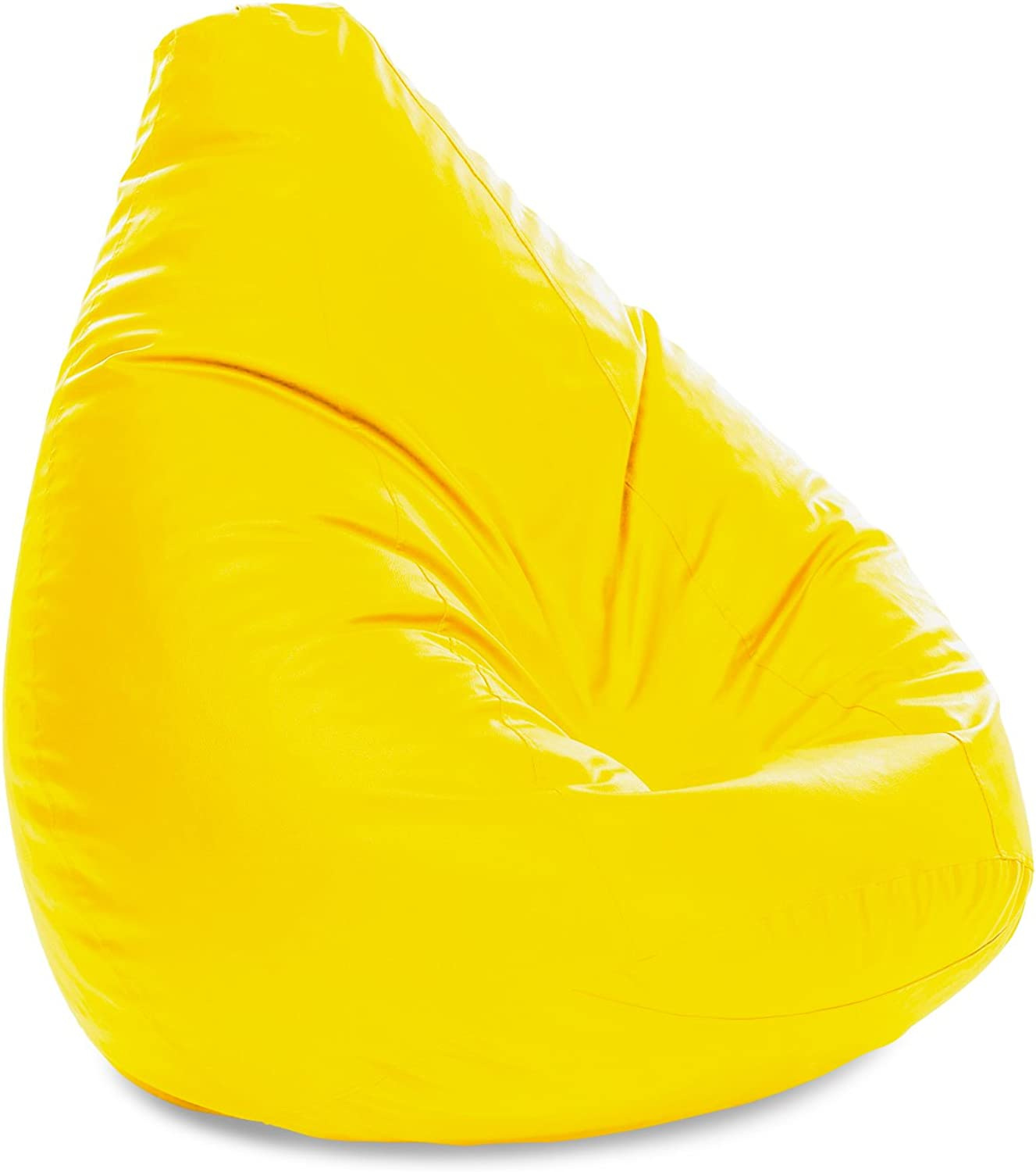 Style Homez Jumbo SAC Bean Bag Yellow color Cover Only