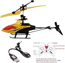Vikas Gift Gallery Induction Flight Electronic Radio RC Remote Control Toy Charging Helicopter Toys with 3D Light Toys for...