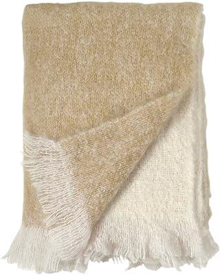 Joseph Abboud Brushed Mink Sherpa Reversible Throw Blanket Brick