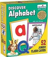 Creative Educational 1153,2cm Découvrez de Lettres de l'alphabet Flash Jeu de Cartes