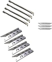 Cookingstar Stainless Steel Grill Burners, Heat Plates&Carry Over Tubes, Replacement for Select BBQ-pro 146.2367631, Kenmore,Kenmore Continued Gas Grills Mode