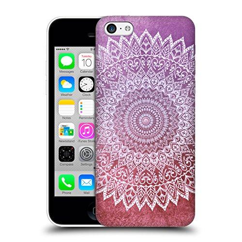 Head Case Designs Licenza Ufficiale Nika Martinez Foglie d'Autunno Passione Mandala Cover Dura per Parte Posteriore Compatibile con Apple iPhone 5c