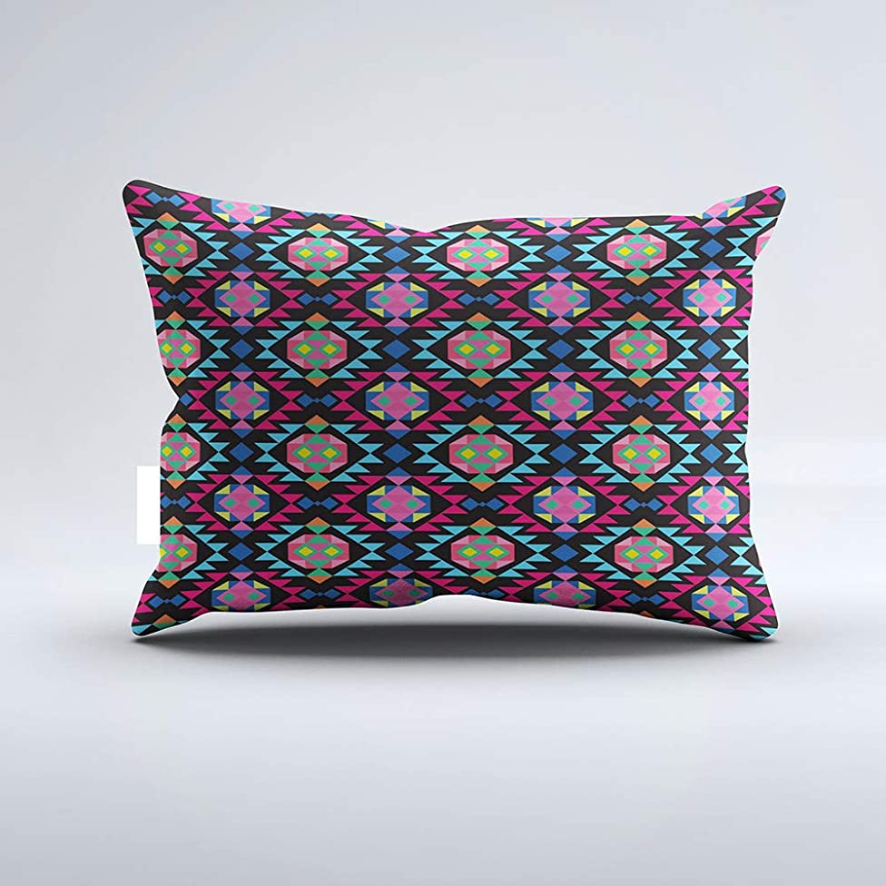 Zippered Pillow Covers Pillowcases One Side 20x26 Inch Tribal Aztec Andes Geometric Hipster Arrow Pattern Pillow Pillow Cases Cushion Cover for Home Sofa Bedding