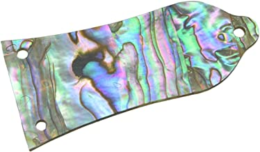 KAISH Pure Custom Made Natural Abalone Shell Guitar Truss Rod Cover with 3 Holes Fits Epiphone LP Les Paul