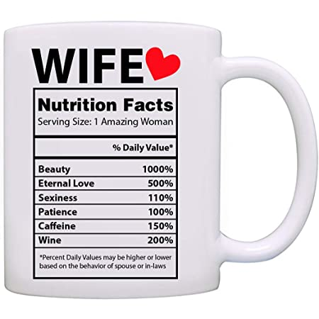 Wife Coffee Mug Best Wife Ever Valentines Day Anniversary Gift for Wifey Floral