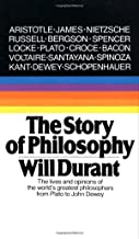 The Story of Philosophy by William James Durant (1-Jan-1991) Mass Market Paperback