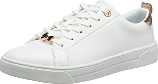 Ted Baker Gielli White Leather Womens Trainers